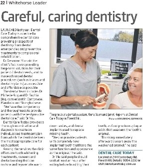 Careful, caring dentistry