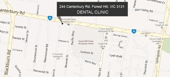 Location of Dental Care Today